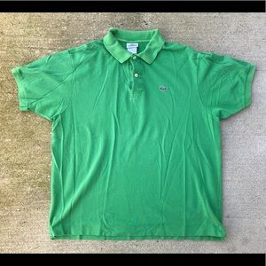 Lacoste Polo Shirt Size 7 XL